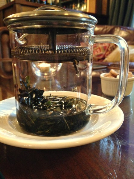 Yorke arms Green Tea