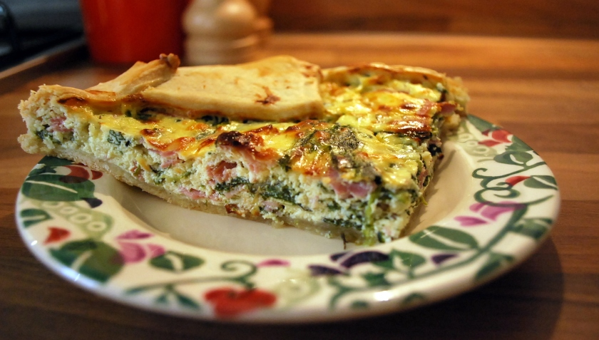 Sunday quiche