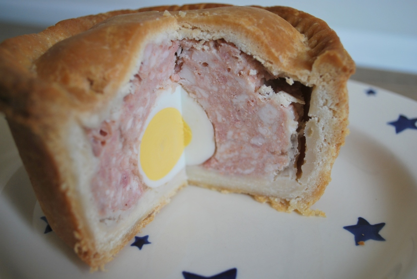 Pie with egg